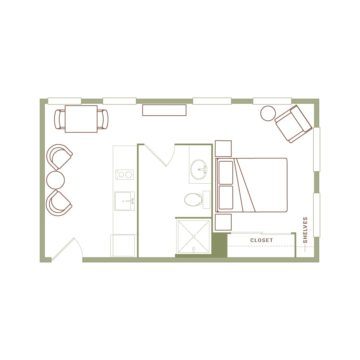 Apartment 235 floor plan